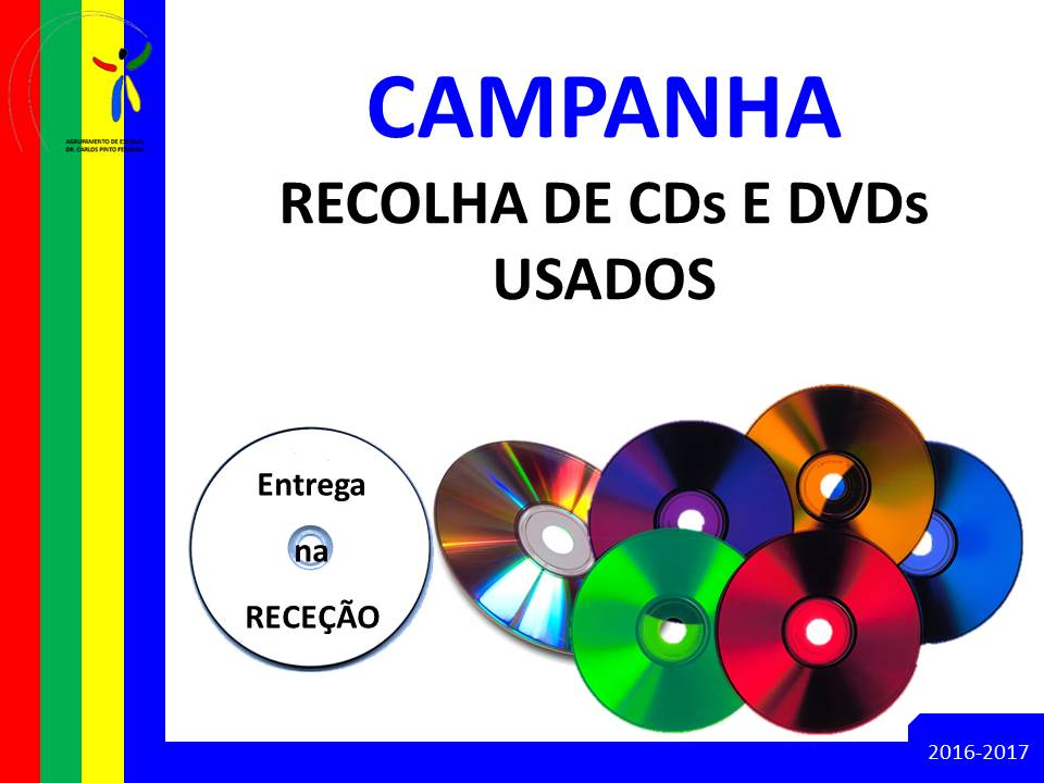 2016 10 11 CampanhaRecolhaCD DVD
